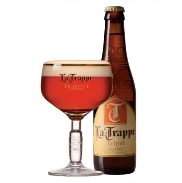 Bia La Trappe TRIPEL 8% – Chai 330ml – Thùng 24 Chai