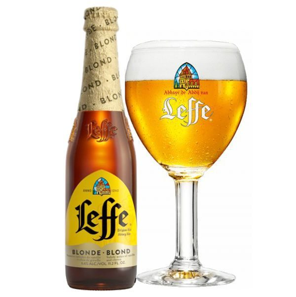 Bia Leffe Vàng 6,6% – Chai 330ml