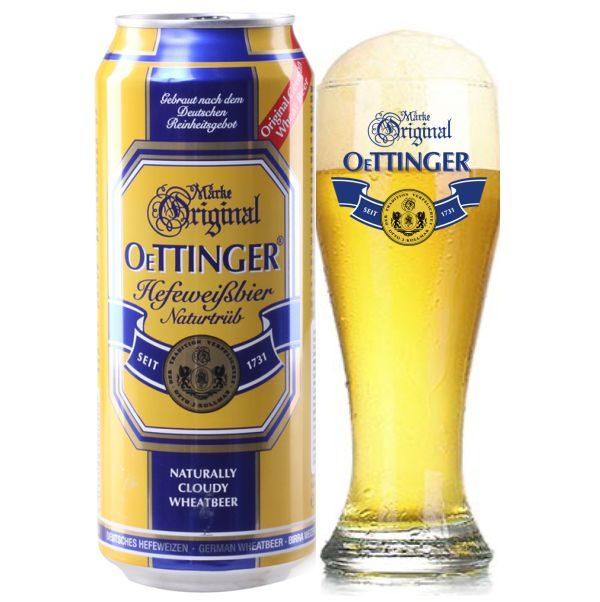 Bia Oettinger Béo 4,95% – Lon 500ml – Thùng 24 Lon