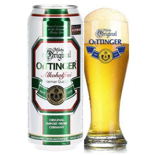 Bia Oettinger Chay 0,5% – Lon 500ml – Thùng 24 Lon