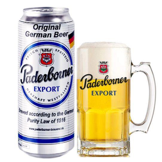 Bia Paderborner 5,5% – Lon 500ml – Thùng 24 Lon