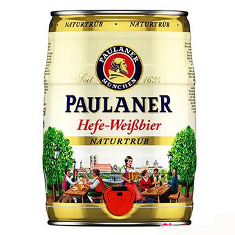 Bia Paulaner Hefe Weissbier 5,5% – Bom 5 Lít