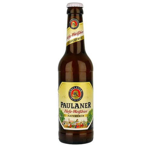 Bia Paulaner Hefe Weissbier 5,5% – Chai 330ml – Thùng 24 Chai