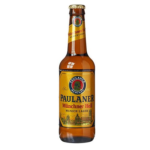 Bia Paulaner Munchner Hell 4,9% – Chai 330ml – Thùng 24 Chai