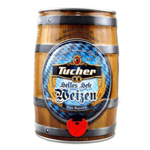 Bia Tucher Helles Hefe Weizen 5.2% – Bom 5 Lít