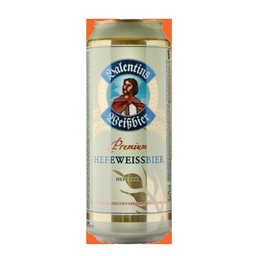Bia Valentins Weibbier Hefeweissbier 5.3% – Lon 500ml – Thùng 24 Lon
