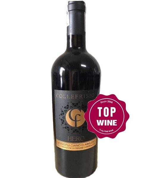 Rượu vang Collefriso Hero Montepulciano d'Abruzzo  2015