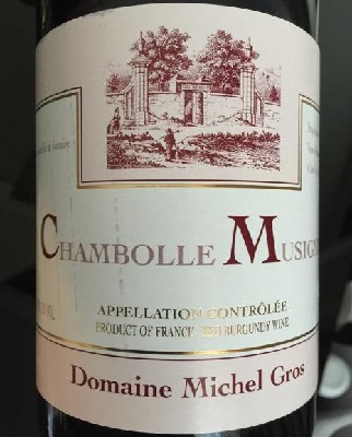 Chambolle Musigny Domaine Michel Gros