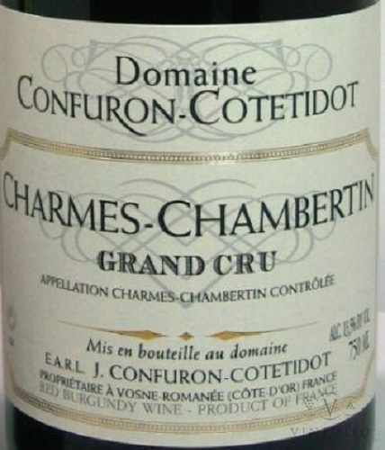 Charmes Chambertin, Domaine Confuron Cotetidot