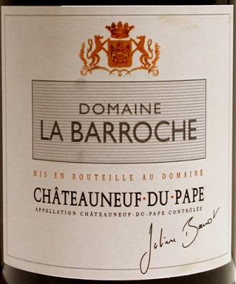 Domaine la Barroche Chateauneuf du Pape