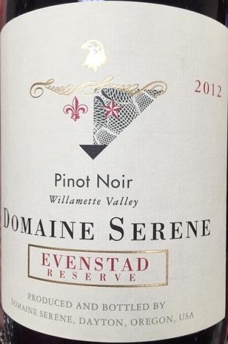 Domaine Serene Evenstad Reserve Pinot Noir