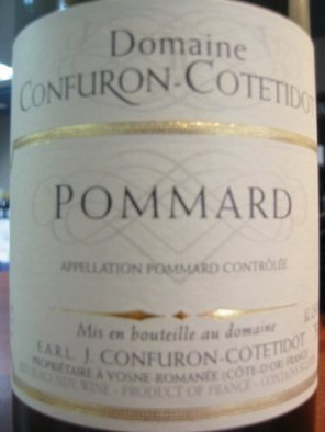 Pommard Domaine Confuron Cotetidot