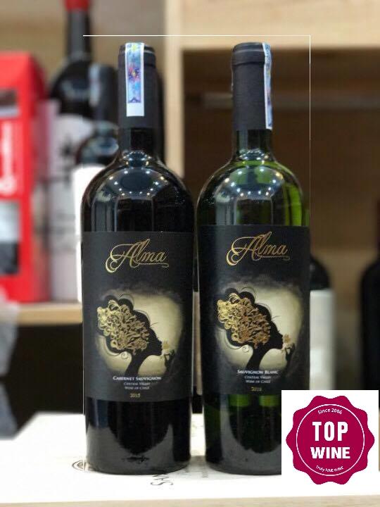 Rượu vang Chile Alma Cabernet Sauvignon/ Sauvignon Blanc