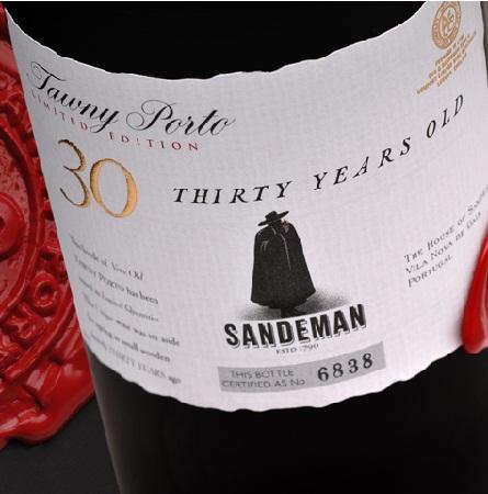 SANDEMAN 30 YEAR OLD TAWNY