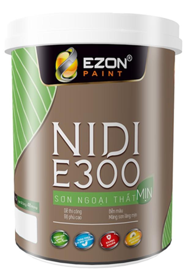 Sơn ngoại thất mịn NIDI E300