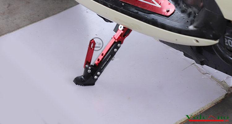 Chân chống độ xe máy CC02 (đỏ) (Ảnh 5)