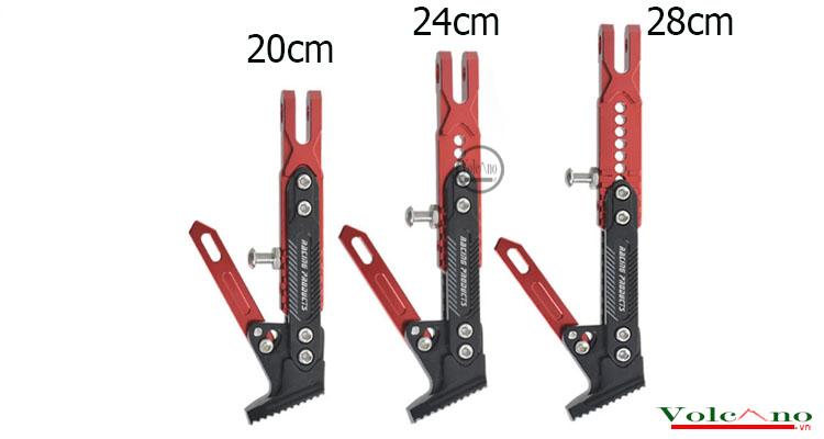 Chân chống độ xe máy CC02 (đỏ) (Ảnh 4)