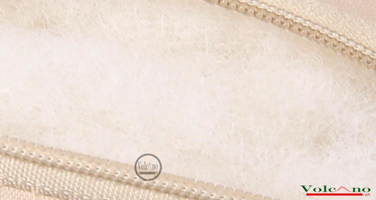 Bộ 02 gối tựa đầu ô tôvỏ sợi lụa đan chống nóng (đen) (Ảnh 6)