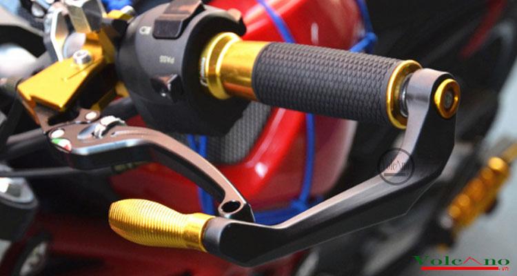 Bộ 02 gù bảo vệ tay phanh, tay côn xe máy  xe mô tô GP01 (Ảnh 3)