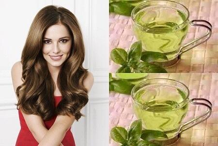 Chống rụng tóc hiệu quả bằng trà xanh 2