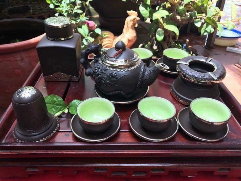 Bộ ấm chén uống trà cao cấp