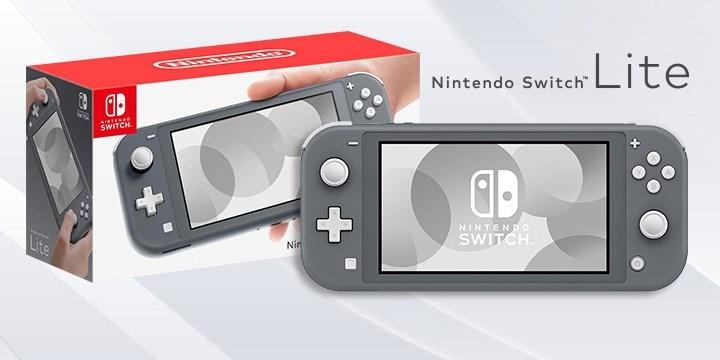 Máy Nintendo Switch Lite Gray (Hàng mới 100% Full Box)