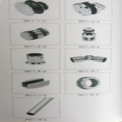 Cửa lùa ray inox D25 đơn