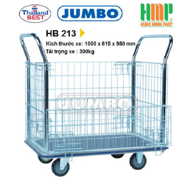 XE ĐẨY TAY JUMBO HB 213 (300KG)