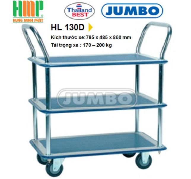 XE ĐẨY TAY JUMBO HL 130D (170KG)