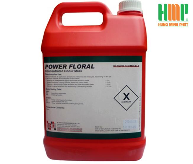 Hóa chất khử trùng và tạo mùi thơm Power Floral