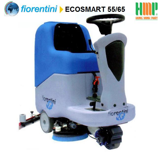 Máy chà sàn ngồi lái Fiorentini ECOSMART 55/65