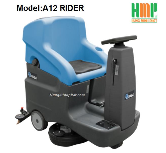 Máy chà sàn liên hợp ngồi lái FASA A12-RIDER