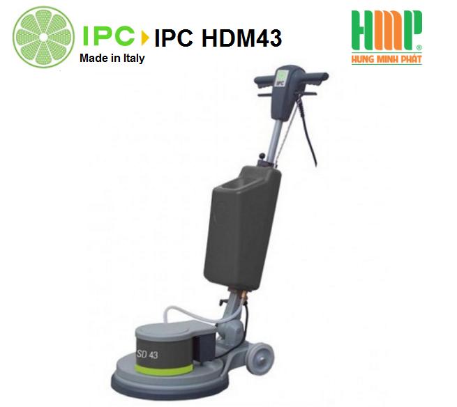 Máy chà sàn đơn IPC HDM 43