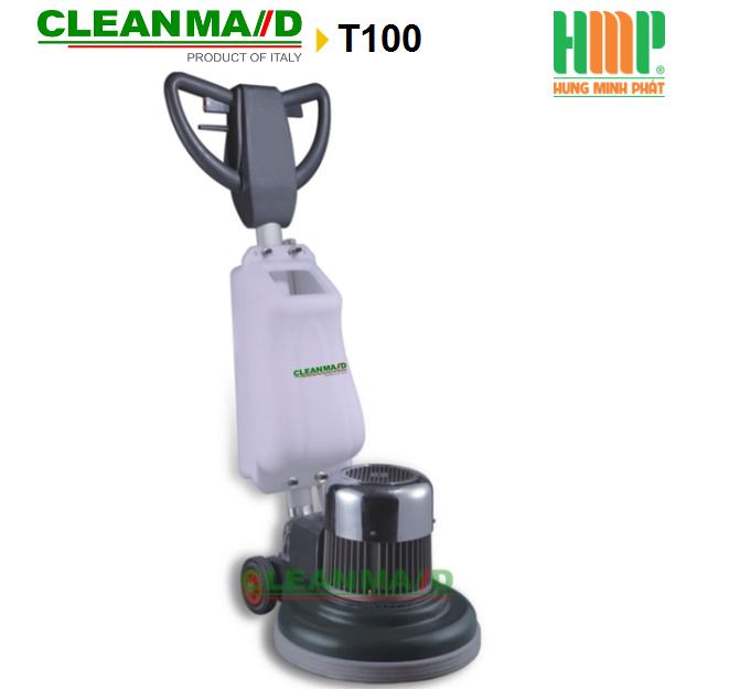 Máy chà sàn tạ và đánh bóng Clean maid T100