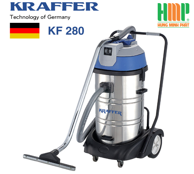 Máy hút bụi công nghiệp Kraffer KF 280