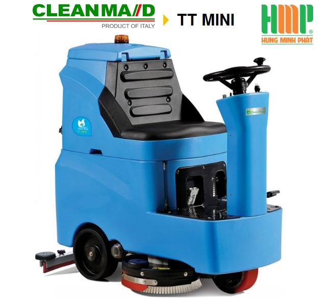 Máy lau sàn ngồi lái CleanMaid TT-MINI