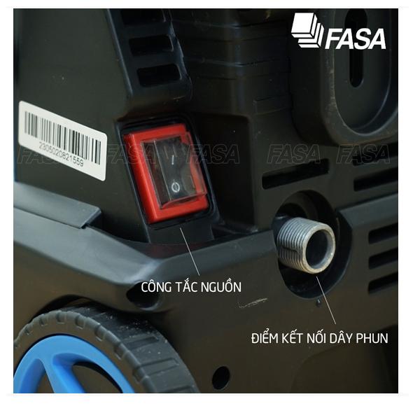 Máy phun rửa áp lực cao FASA Pop Extra 135
