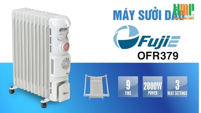 Máy sưởi dầu FujiE OFR379