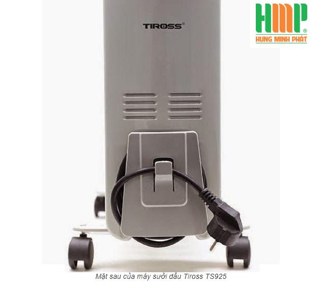 Máy sưởi dầu Tiross TS925