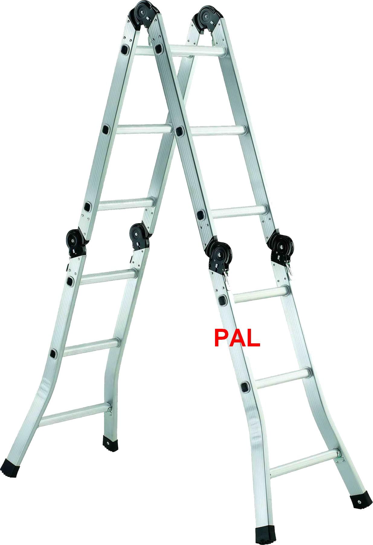 Thang nhôm 4 đoạn PAL B6-205