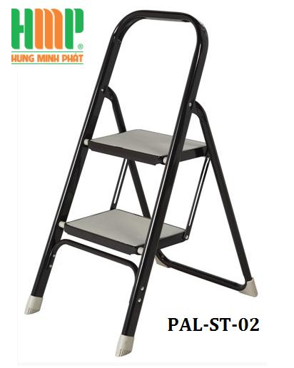 Thang nhôm ghế 2 bậc bản to PAL ST-02