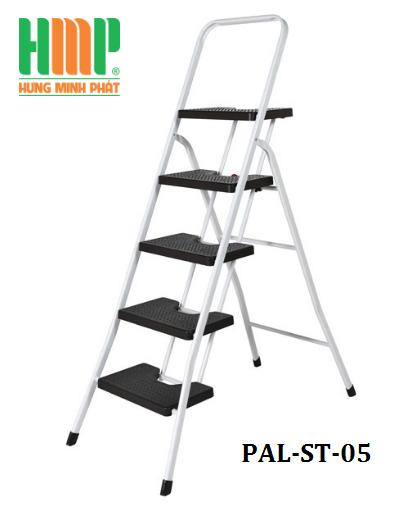 Thang nhôm ghế 5 bậc bản to PAL RT-05