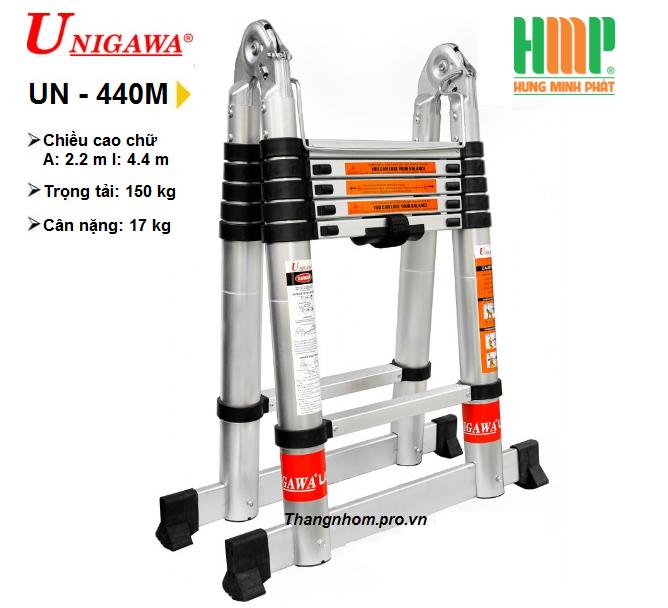 Thang nhôm rút gọn đa năng UNIGAWA UN-440M(4,4m)