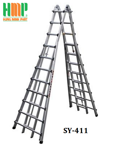 Thang nhôm rút  SHIN YANG SY-411