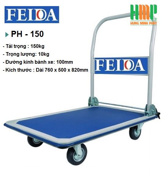XE ĐẨY SÀN THÉP FEIDA PH-150
