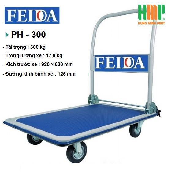 XE ĐẨY SÀN THÉP FEIDA PH-300