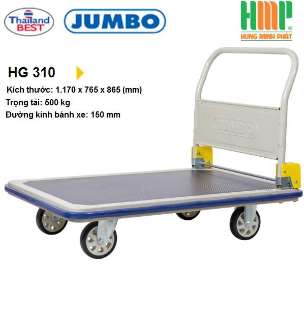 Xe đẩy hàng Jumbo HG-310C