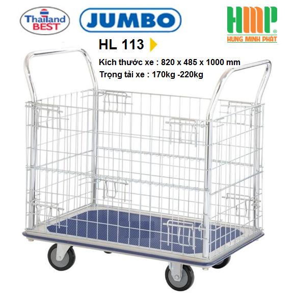 Xe đẩy hàng Jumbo HL 113