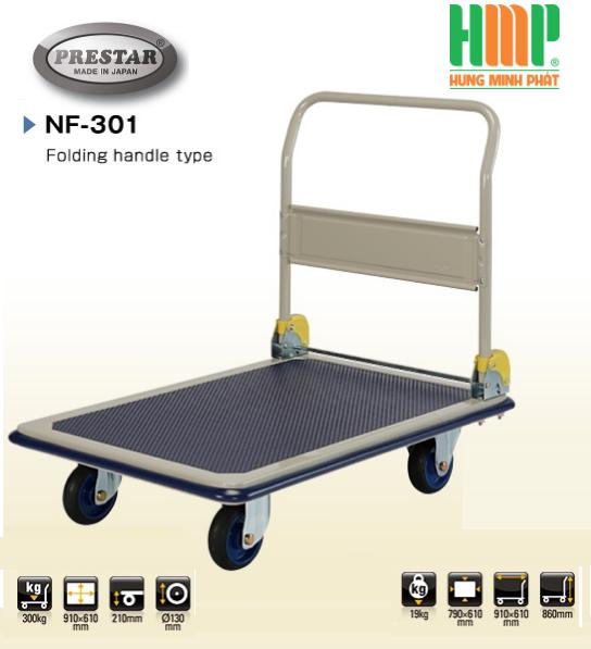 Xe đẩy hàng Prestar Japan NF 301