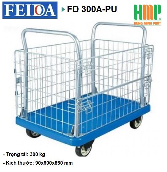 XE ĐẨY SÀN NHỰA FEIDA FD – 300A-PU (300KG)